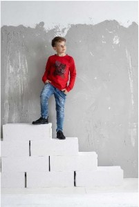 Bluza tygrys czerwona / All For Kids