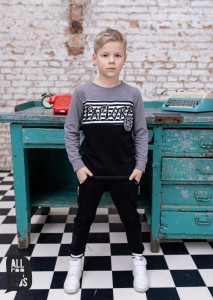 Bluza EXPLORE - SZARA / All for Kids