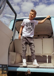 T-shirt STATE OF MIND - BIAŁY / All for Kids