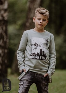 Bluza z szelkami URBAN STYLE - MIĘTA / All for Kids