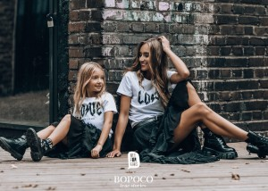 T-shirt LOVE - BIAŁY / All for Kids