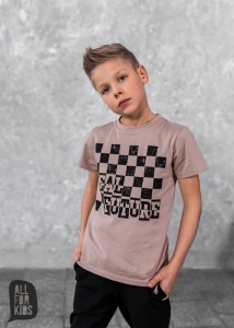 T-shirt FUTURE - BEŻ / All For Kids