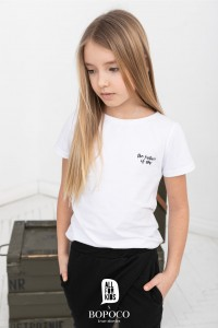 T-shirt THE FUTURE IS NOW - BIAŁY / All For Kids